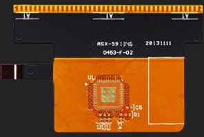 Double access or back bared Flexible PCB