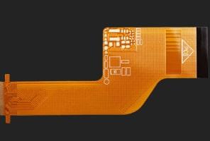Polymer thick film flexible PCB