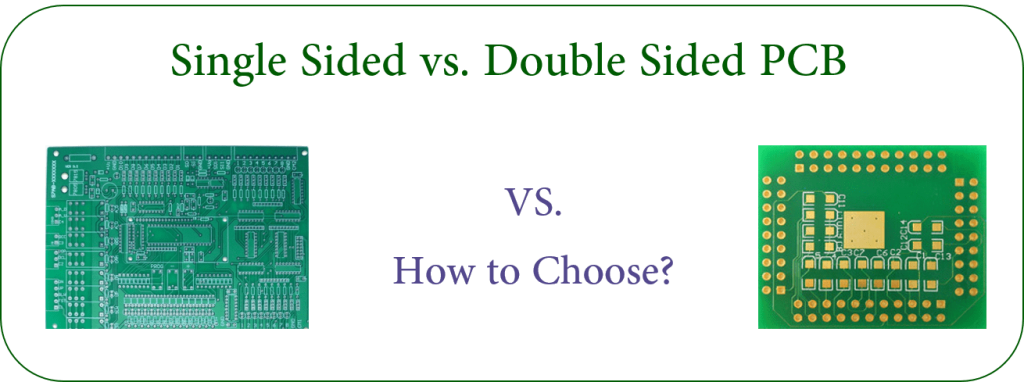 single-layer PCB vs.double-sided PCB