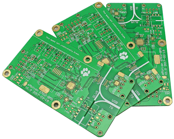 Double Sided Double Layer PCB Board