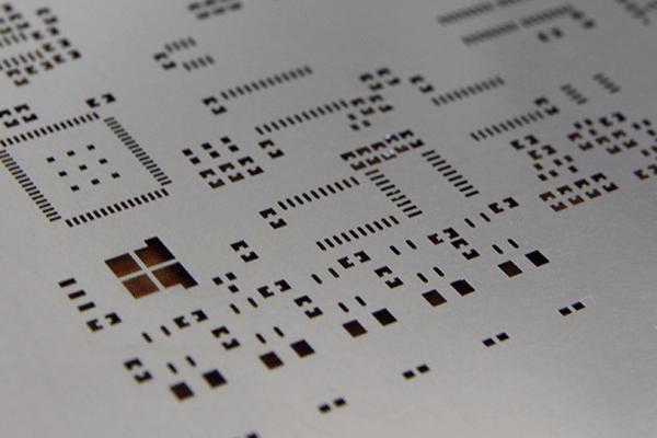 Unframe SMT Stencil
