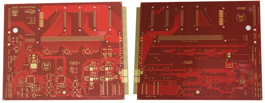 6 Layer Electroless Nickel Immersion Gold (ENIG) PCB