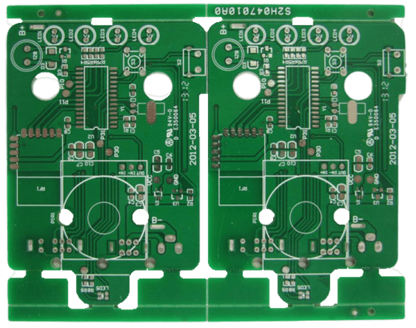 Double-sided Hot Air Solder Level (HASL)PCB