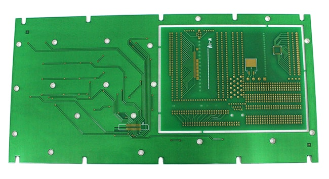 FR4 Double-sided Immersion Gold + Gold-plated PCB Circuit Board