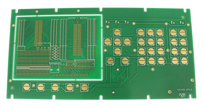FR4 Double-sided Immersion Gold + Gold-plated PCB