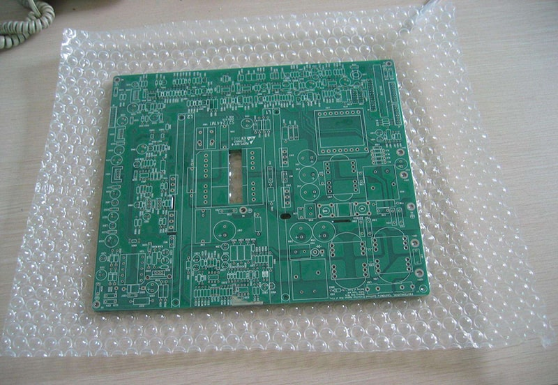 PCB with bubble bag packaging