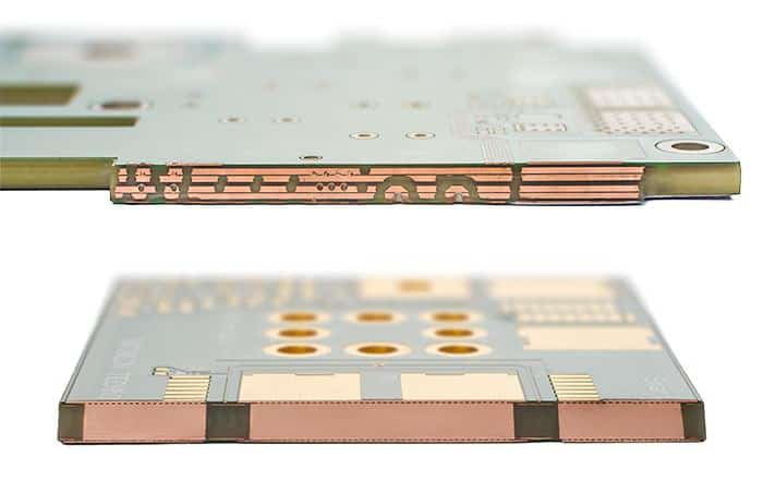 Thick Copper PCB Cross-Section