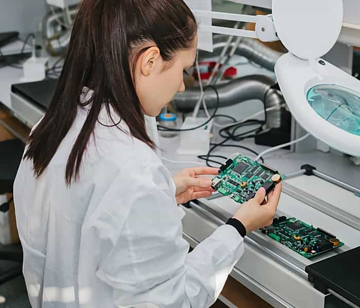 Through hole PCB Assembly Testing and Inspection