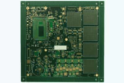 12 Layer High Frequency Microwave PCB