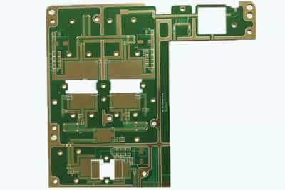 2 Layer Rogers4350 High Frequency Microwave PCB