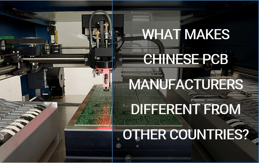 Chinese PCB Manufacturer Different from Other countries