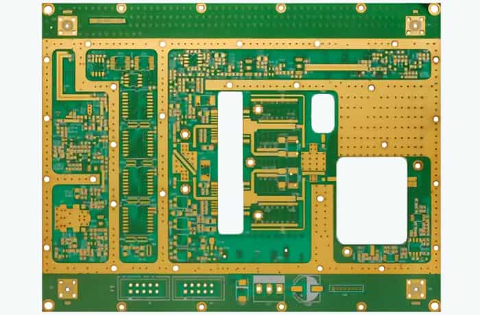 PTFE Material Multilayer High Frequency PCB Circuit Board