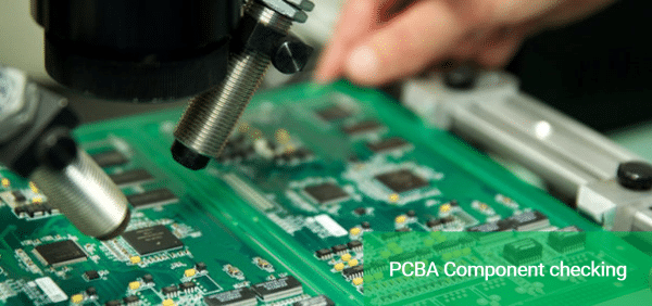 Component checking for PCBA