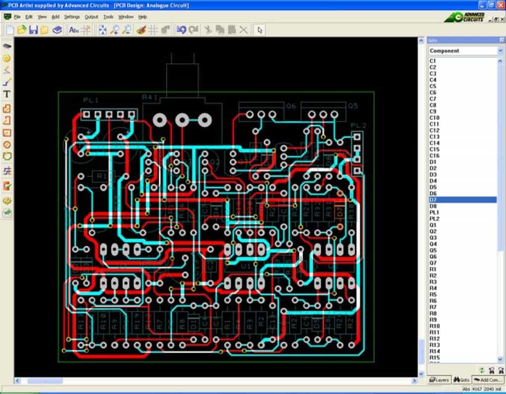 PCB Artist Screenshot