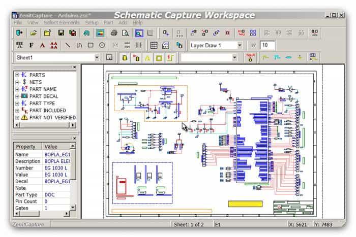 Schematic Capture Workspace