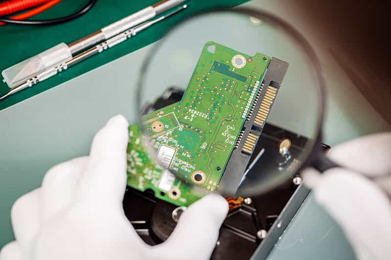 Visual inspection for PCB